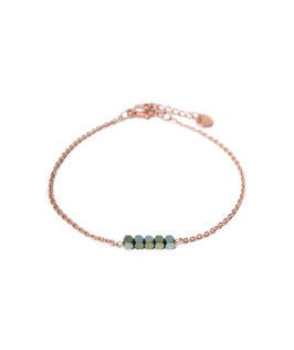 Hematite bracelet rosegold