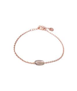 Quartz bracelet rosegold