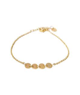 Round bracelet gold