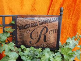 """Rio klein bronze """"Zeitungsoptik"""""""