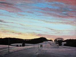 Fohrenbühl im Winter bei Schramberg No 1