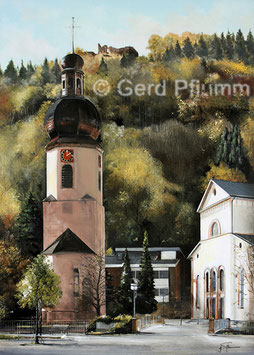 Schramberg Kirchturm St. Maria