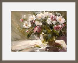 Blumen in Vase, Miniatur-Bild