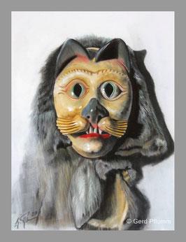 Katzenmaske hell Hardt, Miniatur-Bild