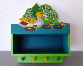 Kindergarderobe Ente