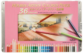 Holbein Artists Colored Pencil - 36 Colors Set