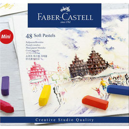 Pastelkrijt Faber Castell - 48 stuks soft pastel