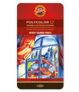 Koh-I-Noor Polycolor - 12 stuks