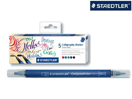Staedtler 5 Calligraphy Markers
