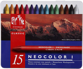 Caran d' Ache Neocolor I - 15 stuks