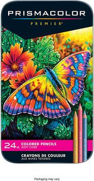 Prismacolor Premier Colored Pencils - 24 stuks