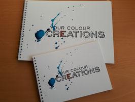 2 Schetsboeken Your Colour Creations