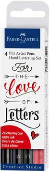 Faber Castell Pitt Artist Pen Handlettering Set
