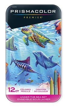 Prismacolor Premier Colored Pencils Under The Sea - 12 stuks