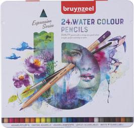 Bruynzeel Expression Aquarel blik - 24 aquarelpotloden