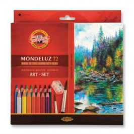 Koh-I-Noor Mondeluz Art Set - 72 stuks