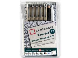 Zentangle Tool Set 12-delig
