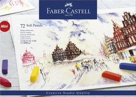 Pastelkrijt Faber Castell - 72 stuks soft pastel