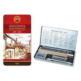 Koh-I-Noor Gioconda Art set 10-delig