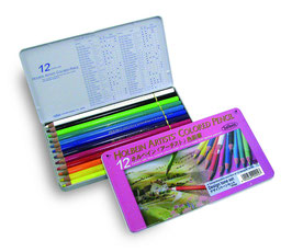 Holbein Artists Colored Pencil - 12 Design Tone Set