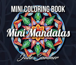 Jade Summer - Mini Coloring Book Mini Mandalas