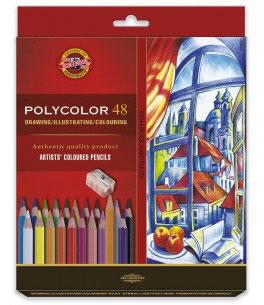 Koh-I-Noor Polycolor Artist's set - 48 stuks
