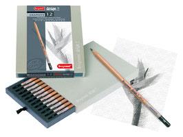 Bruynzeel Design Graphite Box - 12 stuks