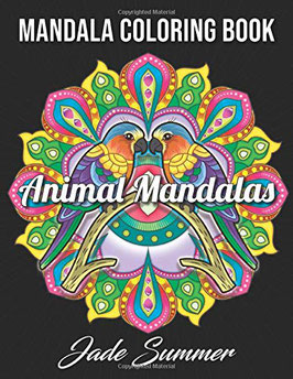 Jade Summer- Animal Mandalas