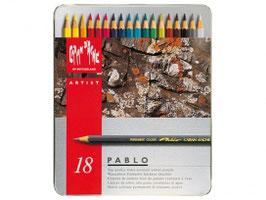 Caran d' Ache Pablo - 18 stuks