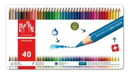 Caran d' Ache Fancolor - 40 stuks