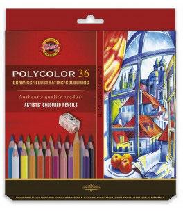Koh-I-Noor Polycolor Artist's set - 36 stuks