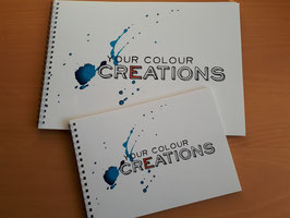 2 Schetsboeken Your Colour Creations A4+A5