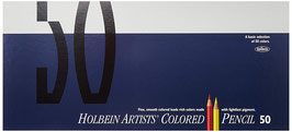 Holbein Artists Colored Pencil - 50 Colors Set