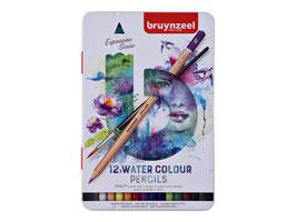 Bruynzeel Expression Aquarel blik - 12 aquarelpotloden