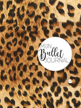 Mijn Bullet Journal - Luipaardprint