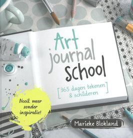 Art journal school - Marieke Blokland