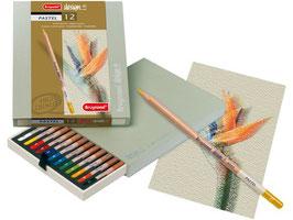 Bruynzeel Design Pastel Box - 12 potloden