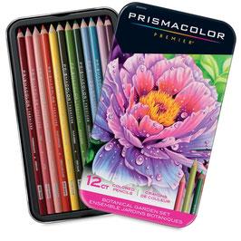 Prismacolor Premier Colored Pencils Botanical Garden Set - 12 stuks