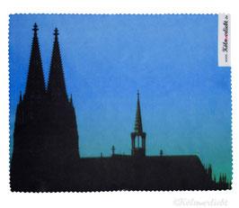 Reinigungstuch Kölner Dom blau