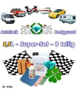 Autolack-Bodyguard 5,5L - Super-Set - 8 teilig - Vorteilspreis