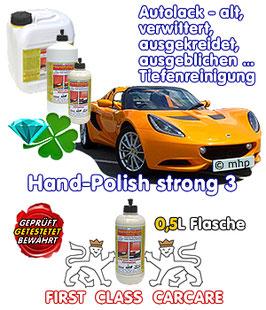 HandPolish strong 3 MW - 500ml - spezial-Lackreiniger und Hartversiegelung
