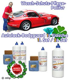 Autolack-Bodyguard - für die ökologische Autowäsche