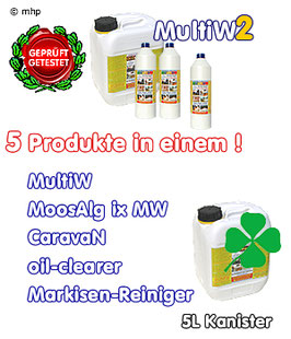 MultiW = MultiW2   -  5L Kanister - professionell und umweltgerecht reinigen !