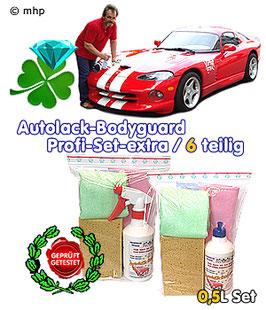 Autolack-Bodyguard - Set - die Waschstraße zum Mitnehmen !