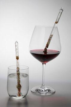 Weinwunder und Wassersegen Standardstab für Trinkgläser