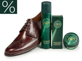 BASIC Schuhpflegeset Glattleder