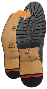 Profilierte Gummisohle für LLOYD-Schuhe (ca. 5 mm)