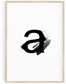 ▴ L e t t e r⠀b l a c k⠀a r t .⠀ A - Z + &