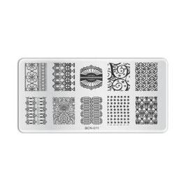 Stamping Plate B011