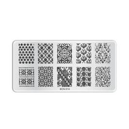 Stamping Plate B014